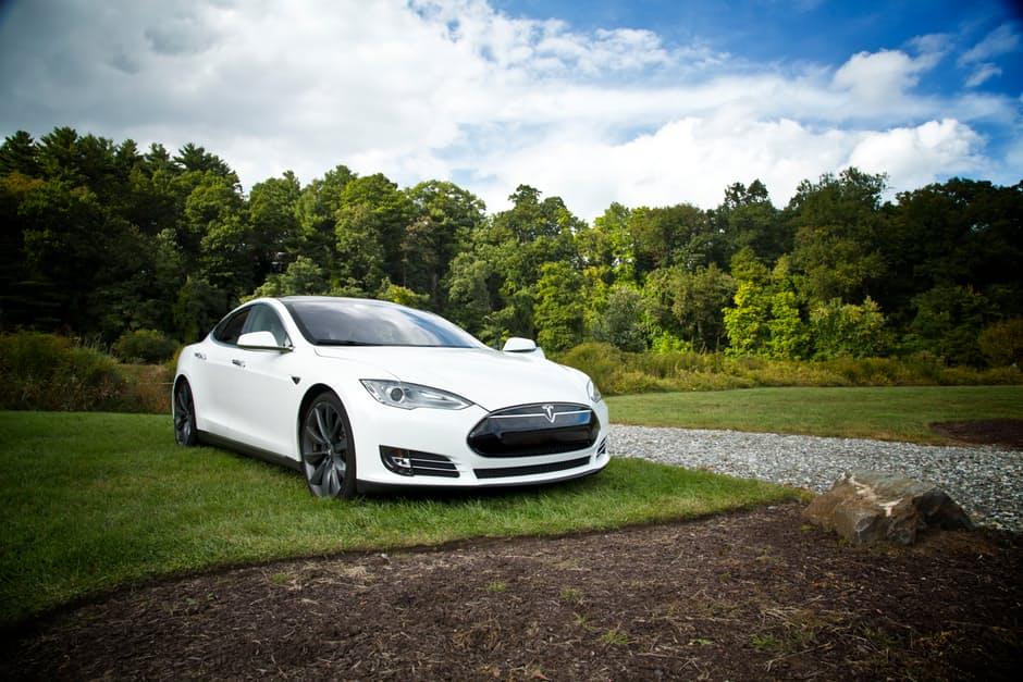 Foto van Tesla auto